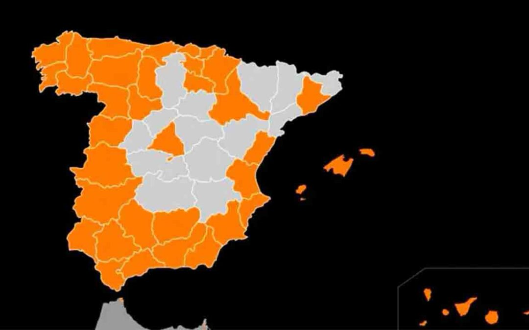 El 5G de Orange ya llega a 121 munipios